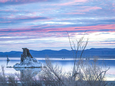 Photograph - Sunrise Mono Lake by Kim Swanson