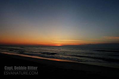 Photograph - Sunrise Ocean 6198 by Captain Debbie Ritter