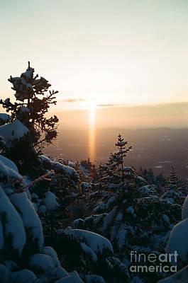 Photograph - Sunrise Of Monadnock - 3 by Larry Davis Custom Photography