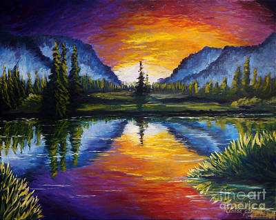 Painting - Sunrise Of Nord by Ruanna Sion Shadd a'Dann'l Yoder