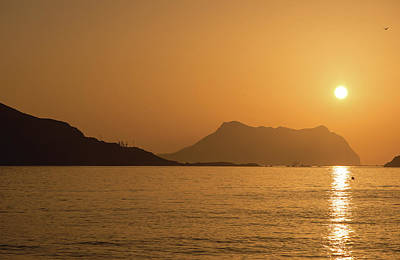Photograph - Sunrise On A Beach In Aguilas, Murcia by Vicen Photography