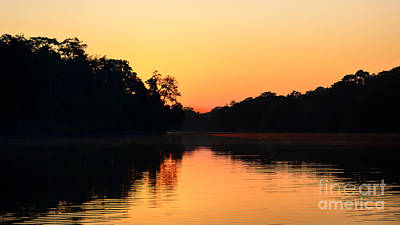 Photograph - Sunrise On A Lake by Nika Lerman