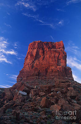 Photograph - Sunrise On A Sandstone Monolith Valley Of The Gods Utah by Dave Welling