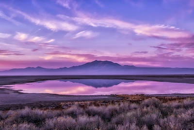 Photograph - Sunrise On Antelope Island by Kristal Kraft
