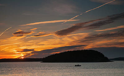 Photograph - Sunrise On Bar Harbor #2 by Mick Burkey
