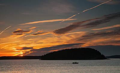 Photograph - Sunrise On Bar Harbor #2 by Mick Burkey