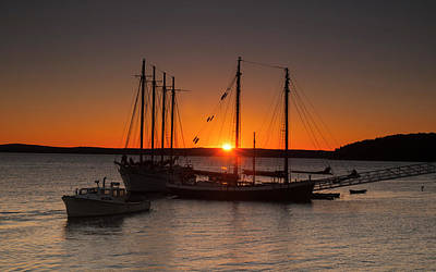 Photograph - Sunrise On Bar Harbor by Mick Burkey