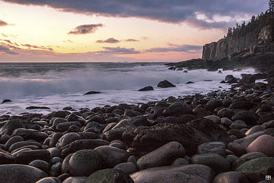 Photograph - Sunrise On Boulder Beach by John Meader