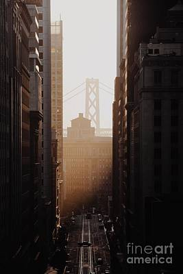 Photograph - Sunrise On California Street by JR Photography