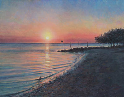 Painting - Sunrise On Captiva by David P Zippi