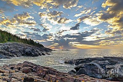 Photograph - Sunrise On Christmas Cove by Tom Cameron