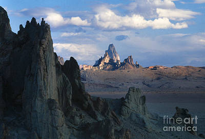 Photograph - Sunrise On Church Rock  by Sandra Bronstein