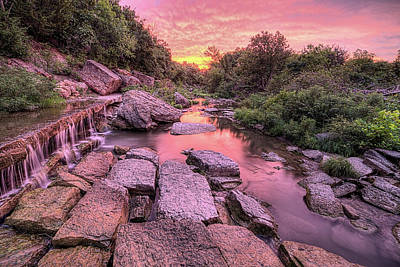 Photograph - Sunrise On Deep Creek by JC Findley