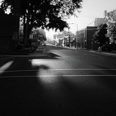 Photograph - Sunrise On Dorion Avenue by Richard Rodney Greenough