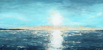 Painting - Sunrise On Erie by Katrina Nixon