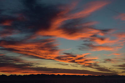 Photograph - Sunrise On Fire by Allen Carroll