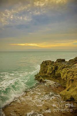 Photograph - Sunrise On Hutchinson Island Florida by Olga Hamilton