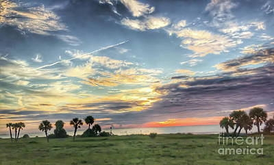Photograph - Sunrise On Jekyll Island by Kerri Farley