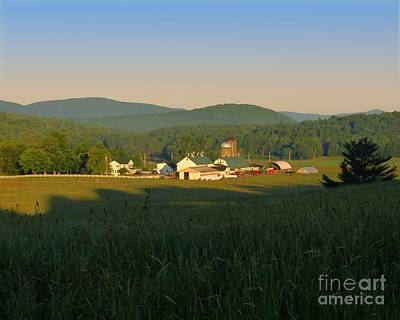 Photograph - Sunrise On J J F In East Jewett by Donna Cavanaugh