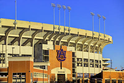 Photograph - Sunrise On Jordan Hare by JC Findley