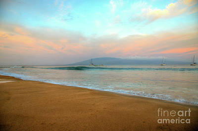 Photograph - Sunrise On Ka'anapali by Kelly Wade