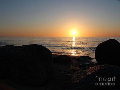 Photograph - Sunrise On Langeland by Four Hands Art