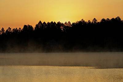 Photograph - Sunrise On Mccollum Lake by Michael Peychich