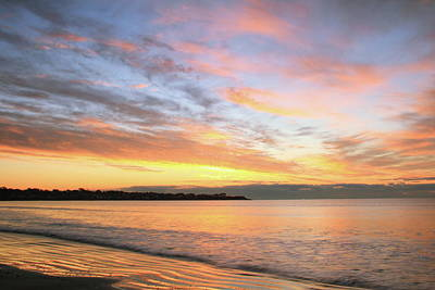 Art Print featuring the photograph Sunrise On Middletown Rhode Island by Roupen  Baker