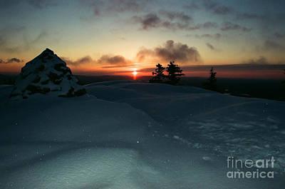 Photograph - Sunrise On Monadnock - 2 by Larry Davis Custom Photography