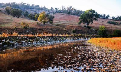 Photograph - Sunrise On Nariel Creek 2  by Lexa Harpell