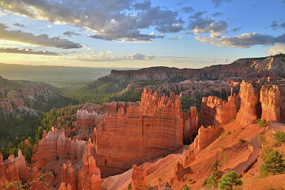 Photograph - Sunrise On Navajo Loop Trail by Ray Mathis
