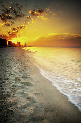 Photograph - Sunrise On Orange Beach by Greg Mimbs