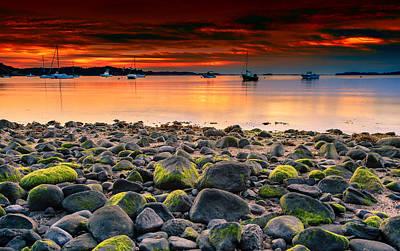 Sunrise On Pleasant Bay Original by Dapixara Art