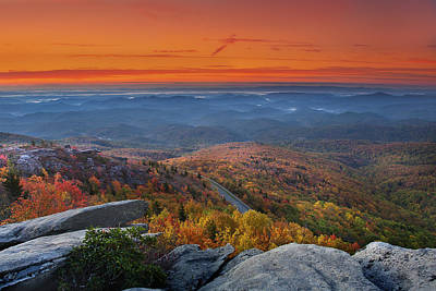Photograph - Sunrise On Rough Ridge  by Ken Barrett