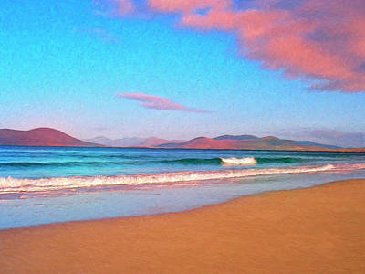 Sea Of Cortez Painting - Sunrise On Sea Of Cortez by Dominic Piperata