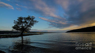 Photograph - Sunrise On Seneca Lake by Brad Marzolf Photography