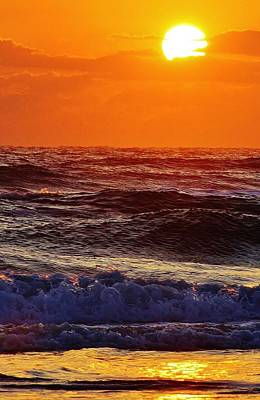 Photograph - Sunrise On The Atlantic by Bruce Bley