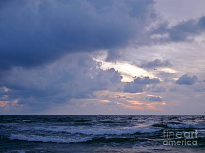 Sunrise On The Atlantic Art Print