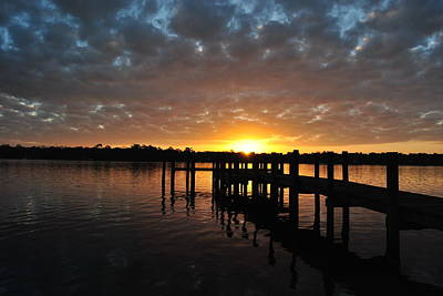 Photograph - Sunrise On The Bayou by Michele Kaiser