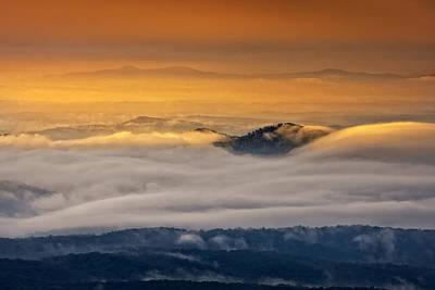 Photograph - Sunrise On The Blue Ridge Parkway by Ken Barrett