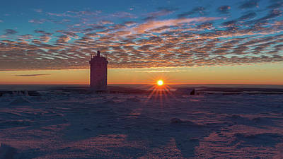 Photograph - Sunrise On The Brocken, Harz by Andreas Levi