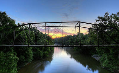 Photograph - Sunrise On The Conecuh by JC Findley