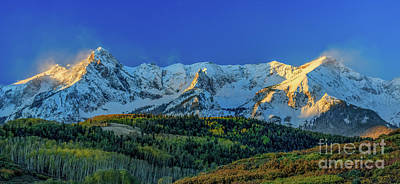 Photograph - Sunrise On The Dallas Divide by Doug Sturgess