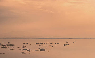 Photograph - Sunrise On The Dead Sea-2 by Sergey Simanovsky