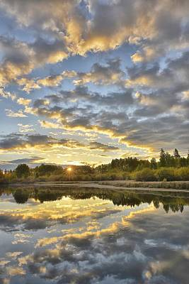Deschutes River Photograph - Sunrise On The Deschutes by Christian Heeb