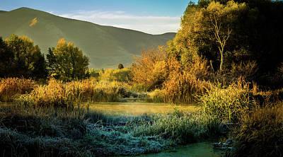 Photograph - Sunrise On The Duck Marsh by TL Mair