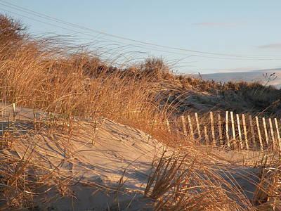 Sunrise On The Dunes Art Print by Donald Cameron