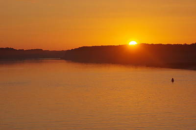 Photograph - Sunrise On The Ferry by Greg Graham