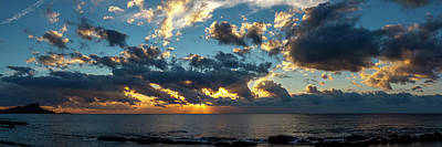 Photograph - Sunrise On The French Riviera by Michael Niessen