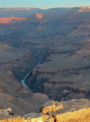 Photograph - Sunrise On The Grand Canyon by Alan Toepfer